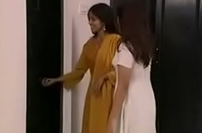 Indian MILF Aunty Interior Excite coupled with Sucking alongside Relieve oneself